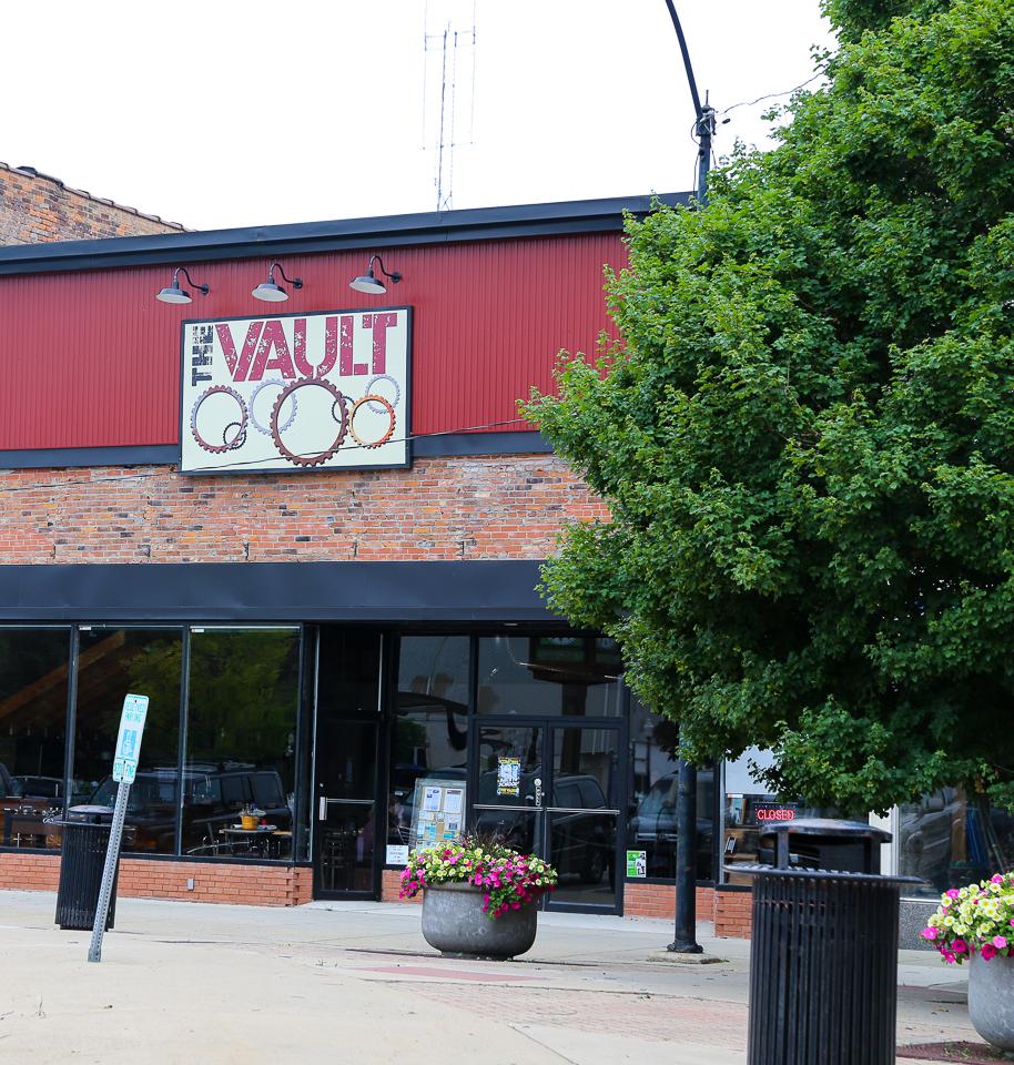 The Vault facade